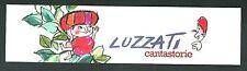 Emanuele Luzzati : Cantastorie - Segnalibro / Bookmark / Lesezeichen