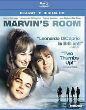 Marvin's Room NEW Blu-Ray Disc/Case/Cover-NO Digital/slip 2015 keaton DiCaprio