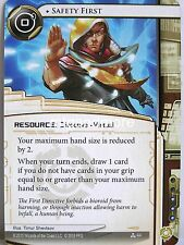Android Netrunner LCG - 1x Safety First  #044 - Data and Destiny