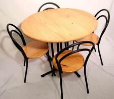 Toller runder Tisch + 4 Stühle / Bistro / Garten / Kief