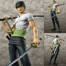 "Anime One Piece Roronoa Zoro 10th Edition POP 8"" PVC Figure New in Box"