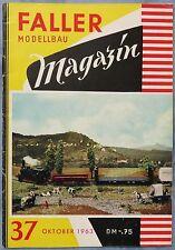 Faller GMCH Modellismo Magazin 37 von 1963