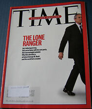 TIME MAG NOV 6,2006 THE LONE RANGER; ELECTION PREVIEW