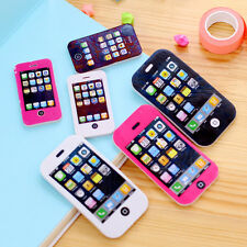 iPhone Shaped Rubber Pencil Eraser Fun Cute Toy Students Creative Stationery