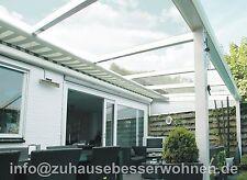 Unterdachbeschattung - Markise für Terrassendach Terrassenüberdachung  6x3m