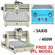 3Axis 3040T Desktop CNC Router Engraver 400W Engraving Drilling Milling Machine