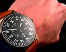 Quality ARISTO German Swiss ETA 2824-2 AUTOMATIC Aviator PILOT FLIEGER Watch