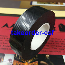 Black Rubber 23mm Width Self Adhesive High Voltage Insulation Electrical Tape 5M