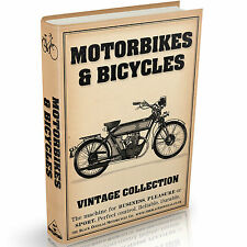 Motorbike and Bicycle Books - 36 Vintage Books on DVD - Bikes Cycles