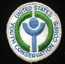 UNITED STATES YOUTH CONSERVATION EMBROIDERED SEW ON PATCH PARKS FISH WILDLIFE