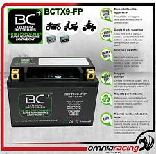Batteria Moto Litio BC LifePO4 BCTX9-FP Battery Lithium corrispondente YTX9-BS