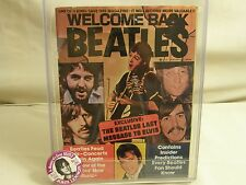 WELCOME BACK BEATLES Part III Winter 1977 John Lennon plus Tribute memorial pin