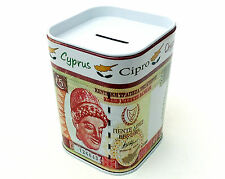 Money box Piggy bank Euro Dollar Cyprus pound Bank note Collectible  Pound coins