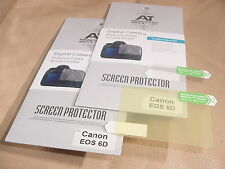 2x LCD Screen Protector for Canon EOS 6D Camera NEW