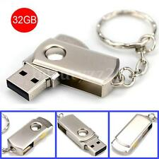 32GB 32G CHIAVETTA USB 2.0 PENNA CHIAVE FLASH MEMORY STICK PENDRIVE FOR MAC PC