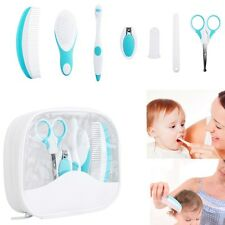 7PCS/SET BABY HEALTHCARE AND GROOMING KIT LOVELY NAIL CLIPPER COMB TOOTHBRUSH
