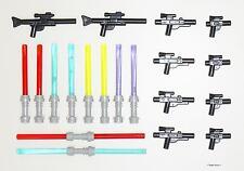 Lego® Star Wars™ - Waffen Blaster Lichtschwert Megaset