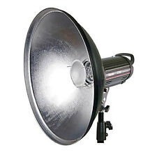 Beauty Dish 42 cm silber + Diffusor f. BRONCOLOR IMPACT