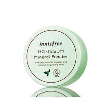 [Innisfree] No sebum mineral powder 5g Loose Powder Oil Control Korean Make-up