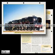 #103.06 Fiche Train - 1996 La LOCOMOTIVE 241 MOUNTAIN EST SNCF de LEMACO en HO
