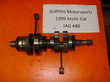 99 ARCTIC CAT JAG 440 fan 340? Z? 00 01 NICE CRANK SHAFT CRANKSHAFT LOW MILES