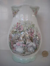 ROYAL DOULTON BRAMBLY HEDGE LARGE SIZE SUMMER SEASONS  FLOWER VASE  1st QUALITY