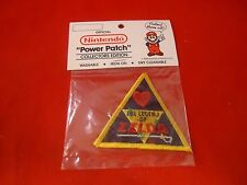 The Legend of Zelda Iron On Power Patch Nintendo NES 1988 **NEW**