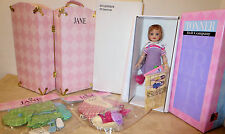 "exclusive Tonner Club Members -JANE NRFB 14""NRFB doll ,NEW Trunk, 2 NEW Outfits"