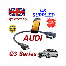 AUDI Q3 Series 4F0051510M For LG Google Nexus 4 MICRO USB Audio cable 30cm