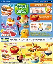 04/2017 Re-Ment Miniature Sanrio Modern Gudetama Full set of 8 pcs