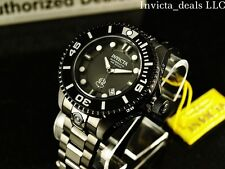 Invicta Men's 300M Grand Diver II Auto 3D Case Black Combat Black IP SS Watch