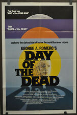 DAY OF THE DEAD 1985 ORIG 27X41 MOVIE POSTER GEORGE A. ROMERO LORI CARDILLE