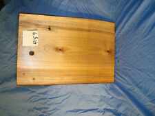"""Spalted Maple Rustic Live Edge Cutting Board 14 1/2"""" long 9 3/4"""" wide 1"""" thick"""