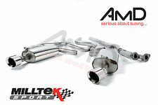 Milltek Ford Mondeo ST220 Stainless Steel Cat Back Exhaust System - Saloon