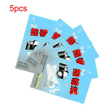 5X 50 Sheets Soft Camera Lens Optics Tissue Clean Paper Wipe Booklet White 1Sets