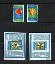 Bulgaria 1973  #2106-8  olympics soccer set & perf & imperf sheets   MNH  I350