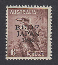 B.C.O.F.1946 6d WITH WRONG FOUNT '6' SG J4a MNH.