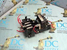 GENERAL ELECTRIC CR306A1 600 V 9 A 3 PH 15D21G002 COIL SZ 0 MOTOR STARTER