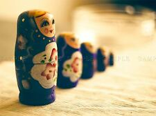 RUSSIAN DOLL SET STATUE ORMIMENT PUZZLE PHOTO ART PRINT POSTER PICTURE BMP2182A