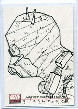 Topps STAR WARS GALAXY 4 SKETCH CARD by KATE GLASHEEN