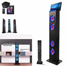 SUMVISION PSYC TORRE XL BLUETOOTH TOWER SPEAKER TABLET IPAD HOLDER FM REMOTE USB