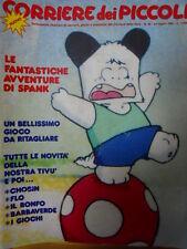 Corriere dei Piccoli n°30 1983 Hello Spank - Big Jim - Piccola Robinson [C20]