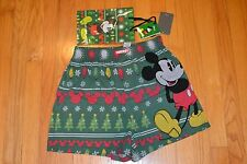 Disney Mickey Mouse Christmas Men's Boxer Size: Small (28-30) New With Tag