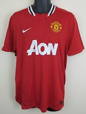 Nike 11-12 Manchester United Football Shirt EPL Soccer Jersey Camiseta Maglia L