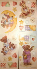 BOYDS BEARS wall stickers 27 big decals baby room nursery decor teddy
