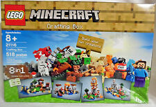 LEGO Minecraft CRAFTING BOX Set #21116 8 in 1 Building Instructions NEW