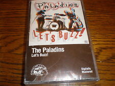 The Paladins CASSETTE NEW Let's Buzz