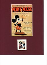 Walt Disney's Mickey Mouse & the Stamp for Mickey Mouse, Goofy & Donald Duck