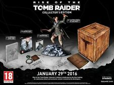 PC gioco Rise of the Tomb Raider Collector 's Edition Incl. statua ecc. merce Nuova