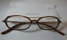 Vera Wang Luxe Wafer Glance Tabac 49/16 Eyeglass Frame New